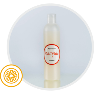 Argánolajos Sampon, cream orange illattal